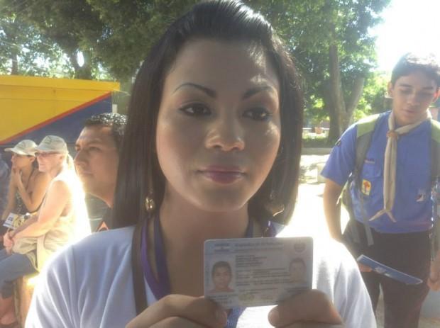 Camila, el 2 de febrero de 2014. Foto de Wendy Raquel Castillo Villeda.