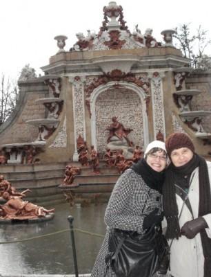 Mi madre y yo pasando frío