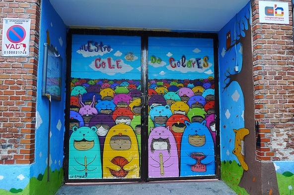 Puerta del colegio VI