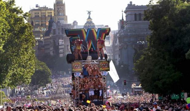 Fotografía de EFE - Orgullo de Madrid 2012