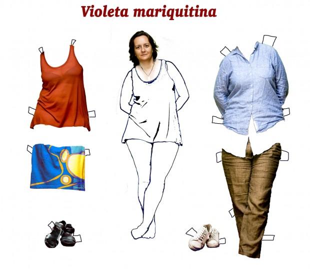"""""""Violeta mariquitina* y la identidad de género"""" – Fotografía de Laura Ramírez"""