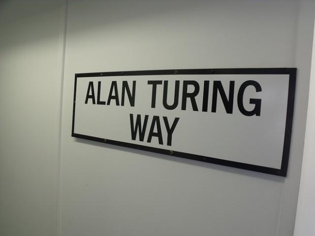 Hut 8 en Bletchley Park, fue el lugar de trabajo de Alan Turing - Fotografía  de Elliott Brown