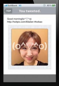 Imagen de la aplicación Twikao