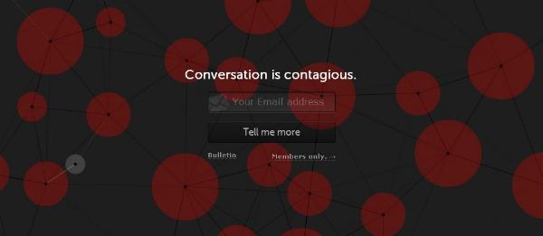 Imagen de la web beta de Branch