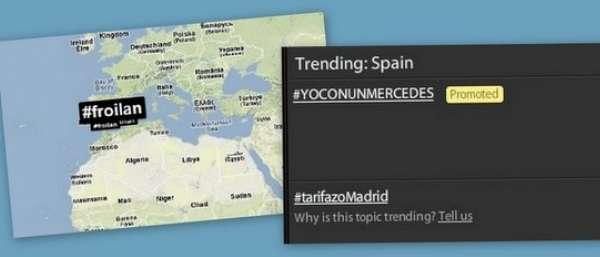 Collage de hashtags