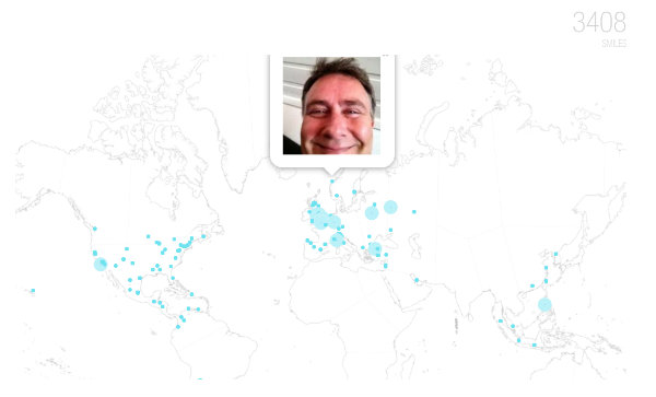 Mapa con las imágenes