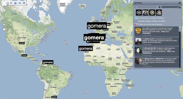 Mapa de Trendsmap
