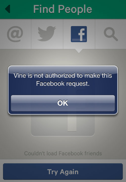 Facebook en Vine