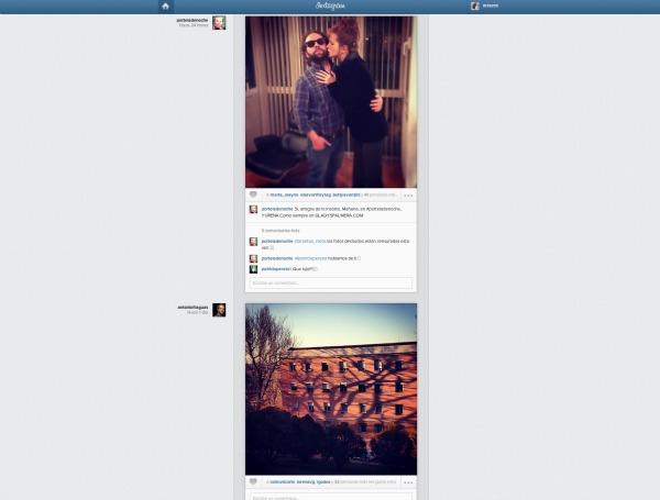 Timeline Instagram