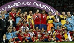 España campeona de Europa 2012