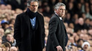 Ancelotti y Mourinho