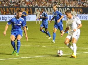 Cristiano ante el Chelsea