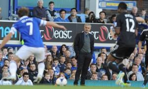 Mourinho en el Everton - Chelsea