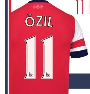 Camiseta Özil
