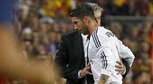 Ancelotti y Sergio Ramos