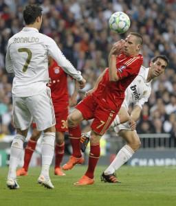 Cristiano y Ribéry