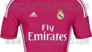 Segunda equipación Real Madrid