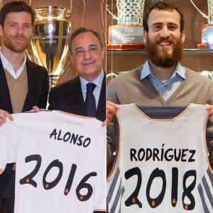 Alonso, Florentino y Sergio Rodríguez