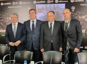 Cardenal, Tebas, Cerezo y Paco Jémez