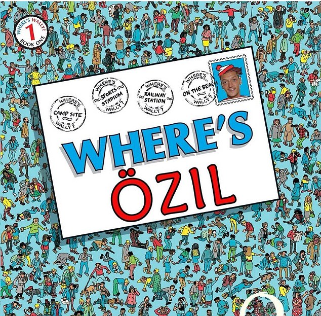 Daily Mail sobre Özil
