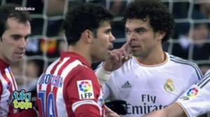 Pepe y Diego Costa
