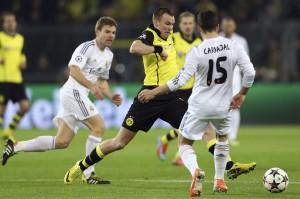 Illarramendi ante el Dortmund