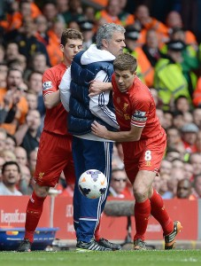 Mourinho y Gerrard