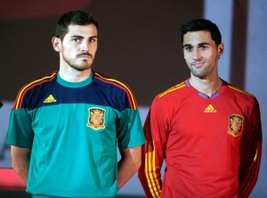 Casillas y Arbeloa