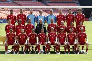Los 23 jugadores de la selección española