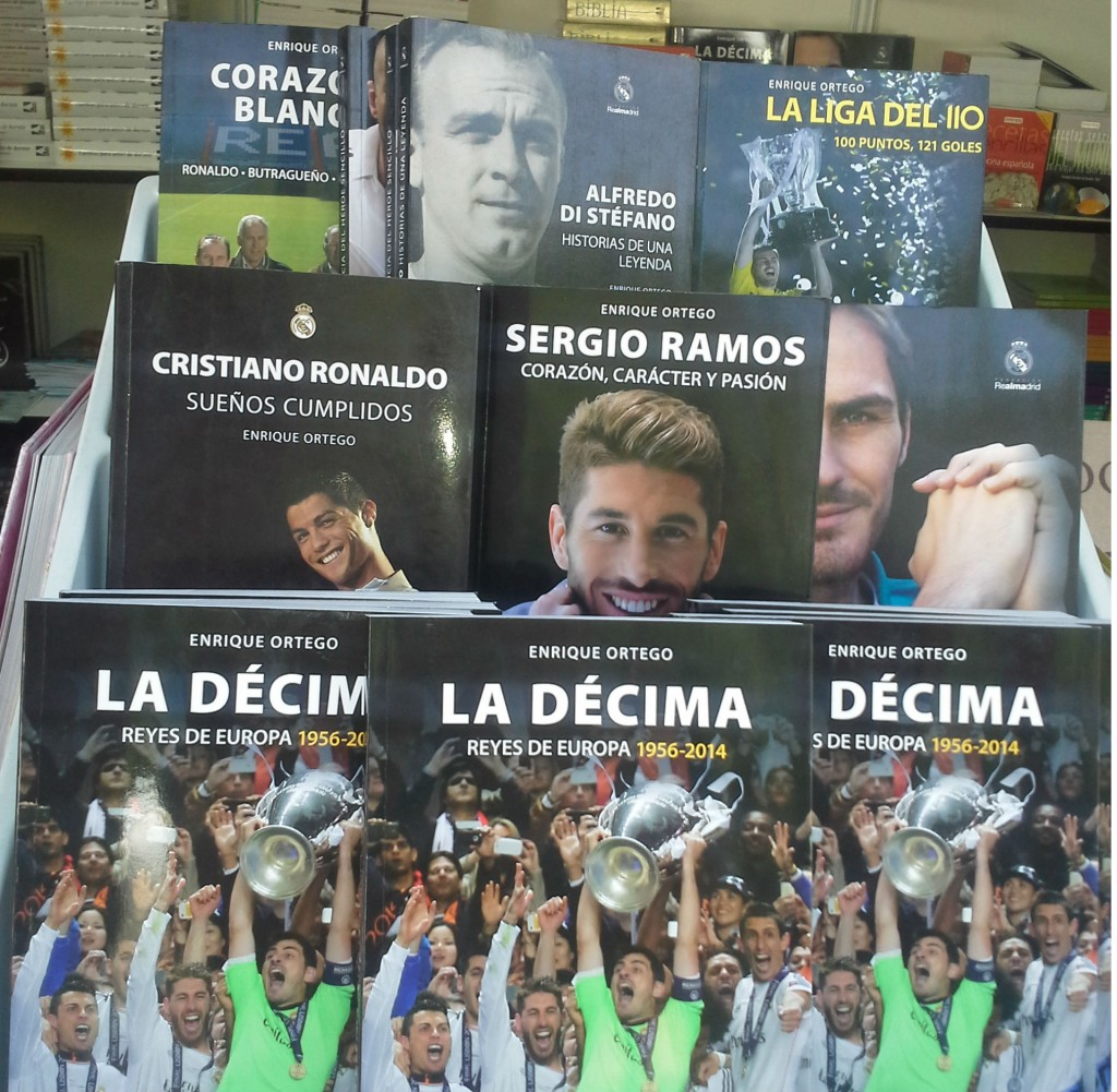 Libros Real Madrid