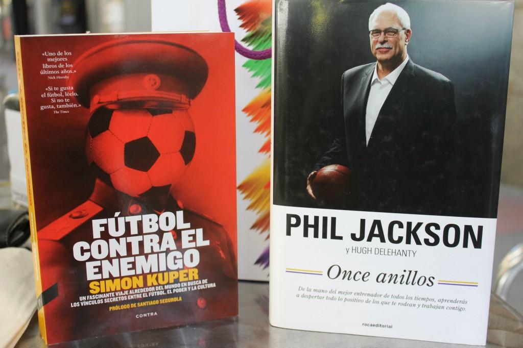 Futbol contra el enemigo y Phil Jackson