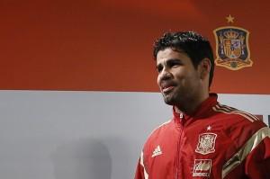 Diego Costa con la selección española (EFE).