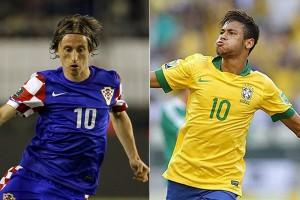 Modric y Neymar