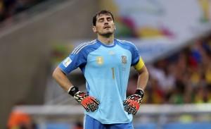 Casillas se lamenta