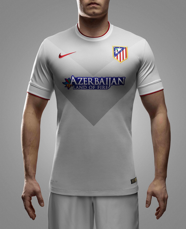 La segunda equipación del Atlético  un gris… que parece blanco ... 60c51edeee4ef