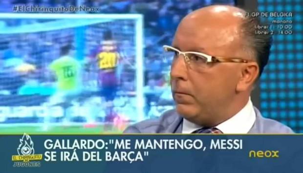 François Gallardo sobre Messi