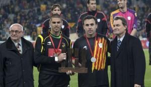 Partido amistoso de la selección catalana