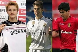 Ødegaard, Lucas Silva y Marco Asensio