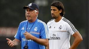 Ancelotti y Khedira