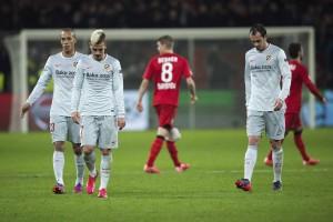 Griezzman, Godín y Miranda, ante el Bayer Leverkusen