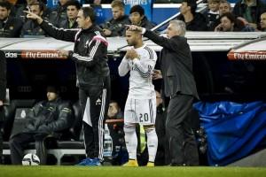 Jesé y Ancelotti