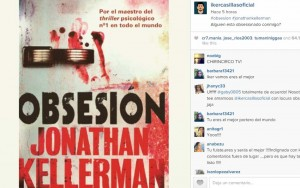 Libro Obsesión en el Instagram de Iker Casillas.