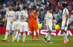 Jugadores del Madrid