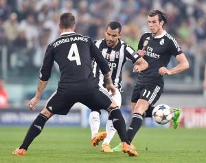 Ramos ante la Juventus