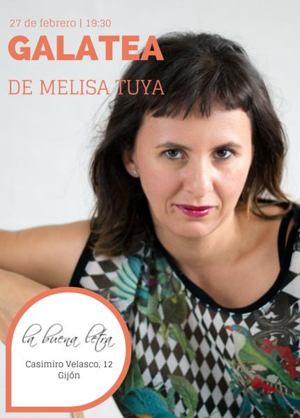 Si andáis por Asturias, el 27 de febrero presentó 'Galatea' en Gijón. El sábado 21 de marzo la presentaré a las 18:30 en la librería Gigamesh de  Barcelona.