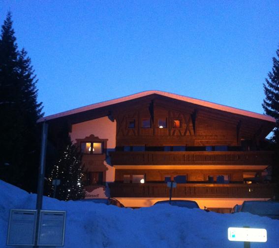 Vivienda de montaña en Austria. Como me alegro de no tener que pagar la calefacción de esta choza. Foto propia