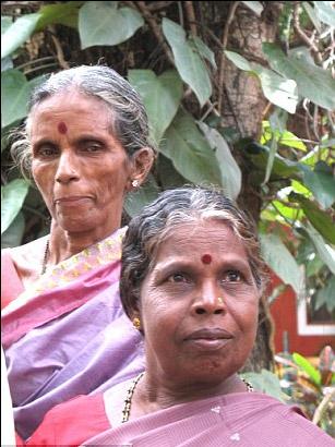 Akky y Leela  Sherigar (Leaderpost).