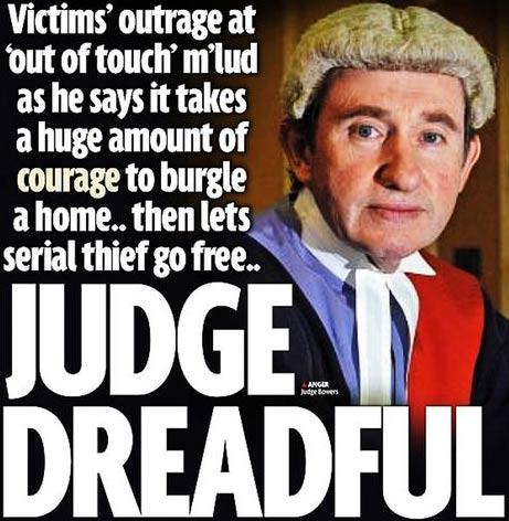 El juez Peter Bowers en el Daily Mirror