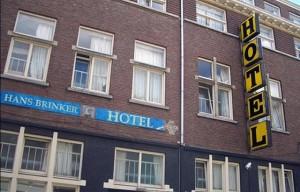 Fachada del hotel Hans Brinker