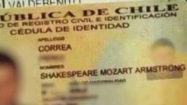 Captura del carné del joven Mozart Amstrong (FACEBOOK)